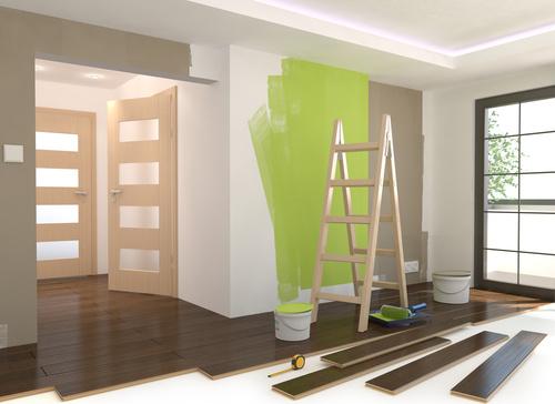 image de travaux dans un appartement